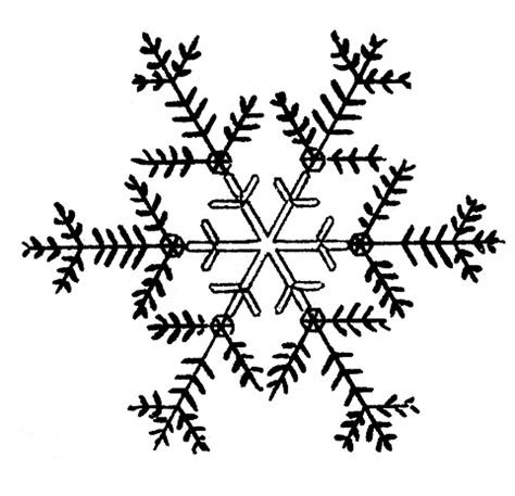 free snowflakes clip the graphics
