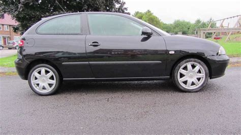 2005 Seat Ibiza 1 4 Sport Black For Sale