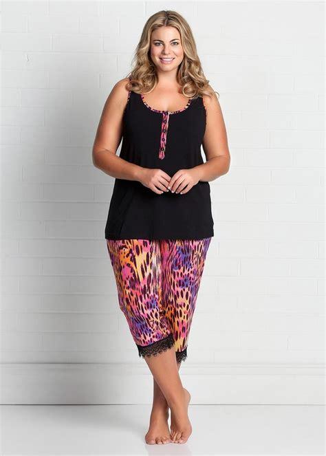 plus size sleepwear for large size sleepwear