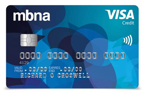 Credit Card Number Format Visa Mastercard Mbna All Credit Card Credit Cards Mbna