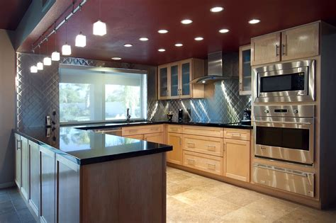 u home ideas small shaped kitchen remodel walnut cabinet gallery
