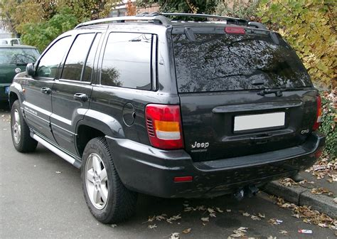 jeep grand cherokee back file jeep grand cherokee wj rear 20071102 jpg