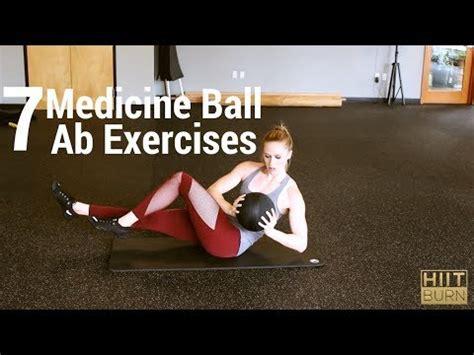 medicine ball ab exercises youtube