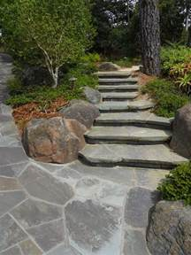 flagstone step designs landscaping network