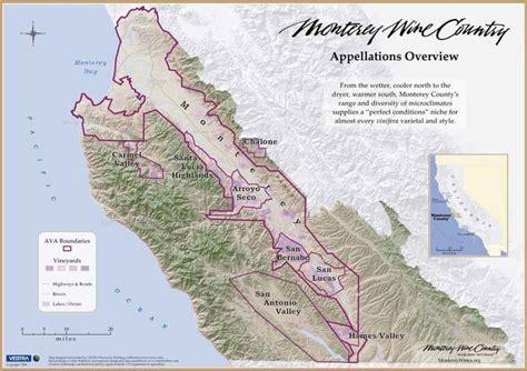 california map monterey county monterey county gallery