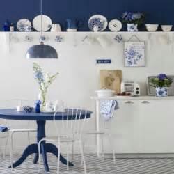 Blue And White Kitchen Ideas Blue And White Country Kitchen Kitchen Design Ideas