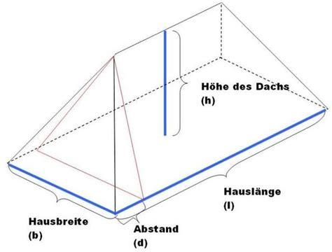 Walmdach Volumen Berechnen das volumen eines walmdachs berechnen