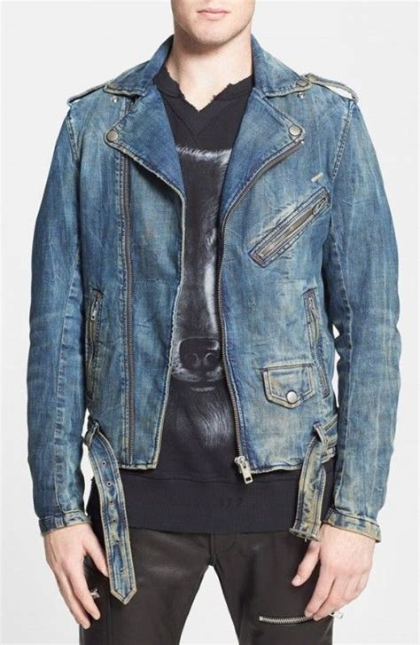 moto biker jacket diesel bhonzer denim moto jacket coat jacket and
