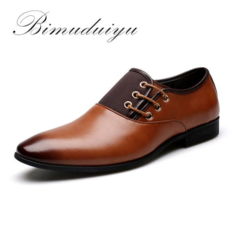 Size 6 Dress Shoes by Bimuduiyu Big Size 6 5 12 New Fashion Wedding Dress Shoes Black Shoes Toe Flat