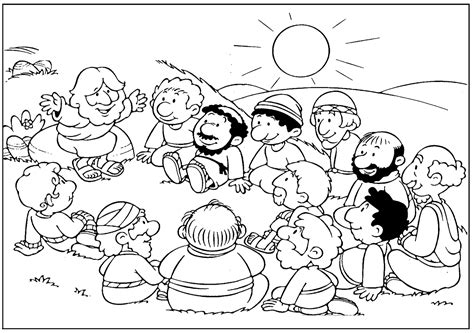 coloring pages of jesus and his disciples jesus with disciples coloring page catholic schools week