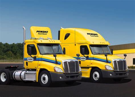 semi truck companies 74 best penske services solutions images on pinterest