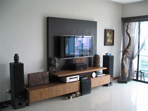 Living Room With Flat Screen Tv by How To Decorate Around Your Flat Screen Television Spacio Furniture