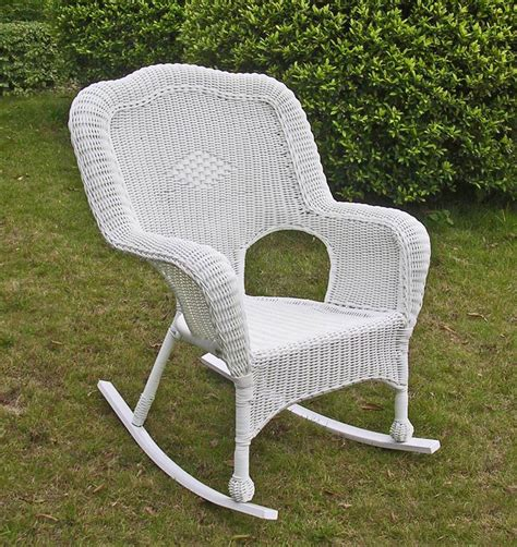 wicker resin patio chairs wicker resin steel patio rocking chair the baby barn