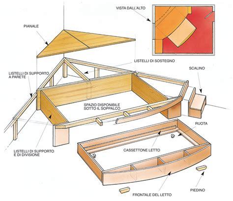costruire un letto a soppalco letto a scomparsa sotto il palchetto bricoportale fai
