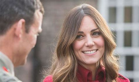 duchess kate shows off her new hairstyle picture the duchess of cambridge shows off grey hair as she debuts new