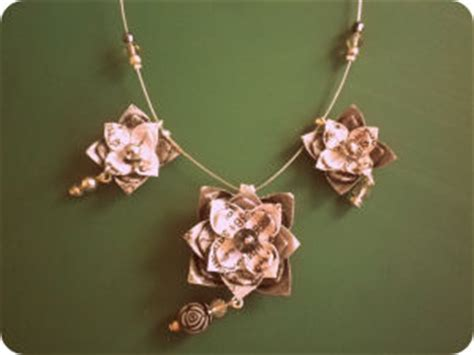Paper Earrings Tutorial - origami jewelry tutorial pictures photos and images for