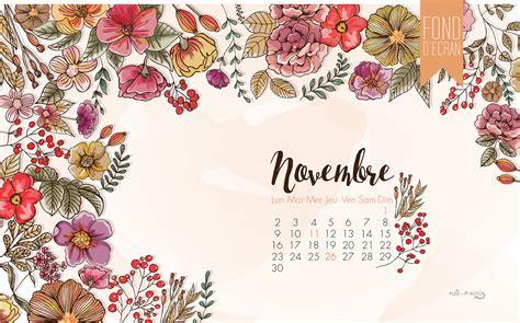 Calendrier 6 Novembre Calendrier Novembre Milk With Mint