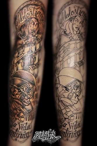 gangster sleeve tattoo designs gangster sleeve lilzeu de