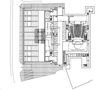 Museum Floor Plan Dwg by Museum Design Drawings Cad Drawings Cad Blocks