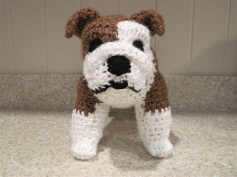crochet pattern english bulldog bulldog anyone