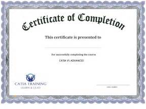 completion certificate template free 13 certificate of completion templates excel pdf formats
