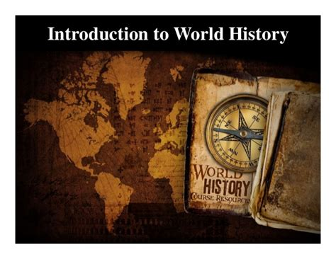 History A Introduction by Introduction To World History Pdf