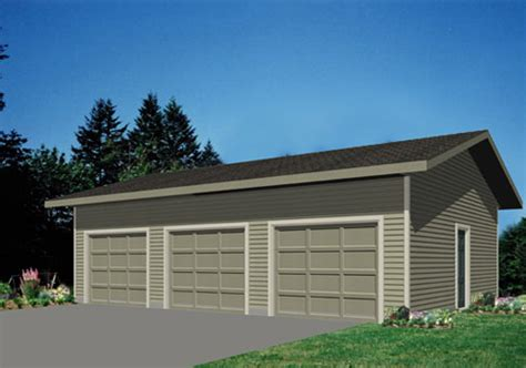 free 3 car garage plans the garage 3 garage package from linwood homes is a 3 car