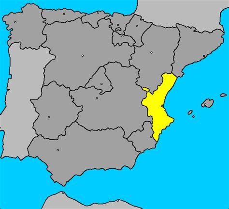 valencia y comunidad valenciana 8497760484 agenda m 225 gica de mar valencia comunidad valenciana mapa espa 241 a
