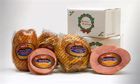 holiday gift hams for businesses albert s meats