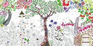 secret garden or enchanted forest coloring book 秘密花園 美術 誠品網路書店