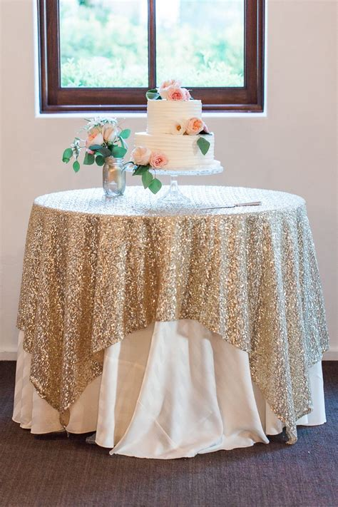 vintage blush and gold arizona wedding cake table