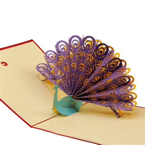 Handmade 3d Cards - 3d pop up greeting cards anmial wedding birthday