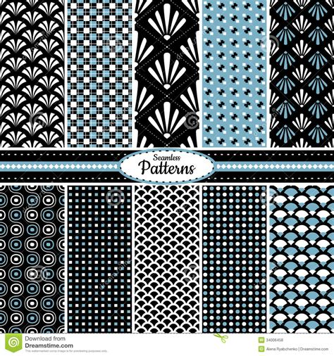 seamless pattern collection collection of seamless pattern backgrounds royalty free
