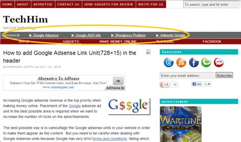 adsense link units the ultimate guide to ad unit implementation
