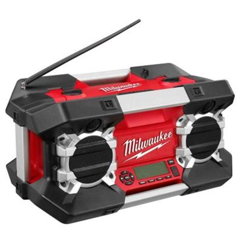 milwaukee heavy duty site radio 2790 20 the home depot