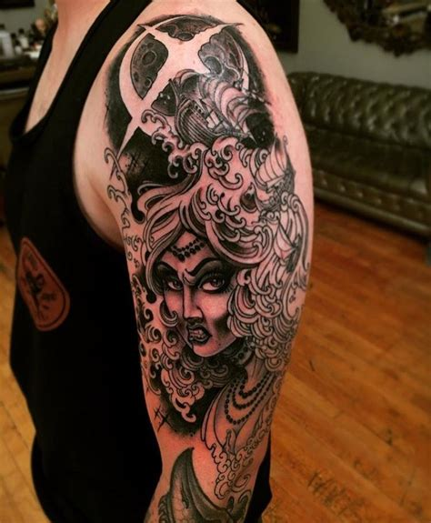 henry lewis tattoo goddess by henry lewis at memoir