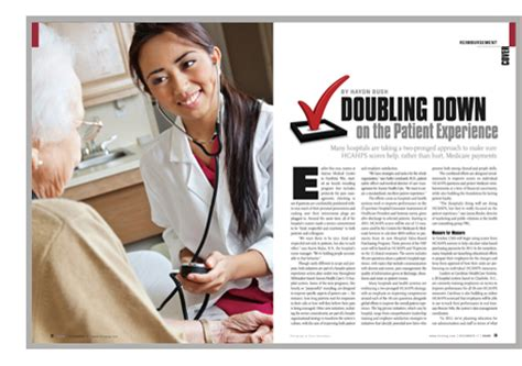 doubling down on the patient experience hospitals and