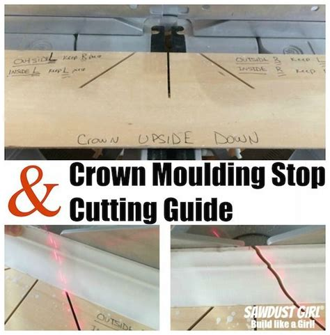 cutting crown molding for cabinets 94 best images about woodworking tips and tricks on