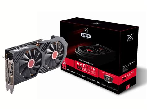 Xfx Fan Kit Rx 4 Series White Led Ma Ap01 Wled xfx announces five radeon rx 580 graphics card models