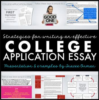 College Application Essay Tutor by College Application Essay Personal Essay Editable