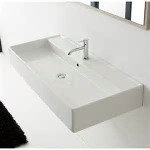 teorema wall mounted 1 sink zuri furniture