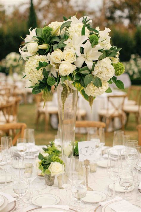 Wedding Flowers And Centerpieces by Floral Vintage Wedding Centerpieces White And Yellow