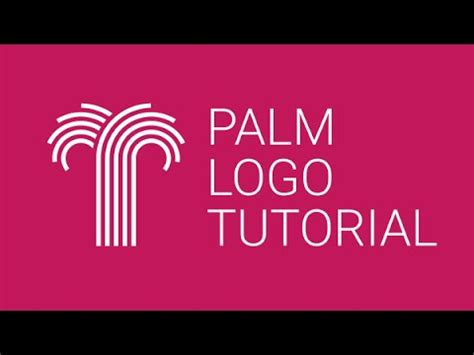 tutorial logo youtube tutorial palm logo design in inkscape youtube