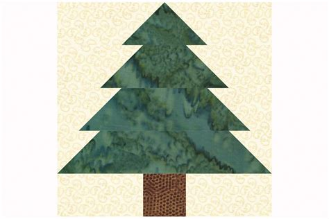 christmas tree quilt block pattern easy patchwork christmas tree quilt block pattern