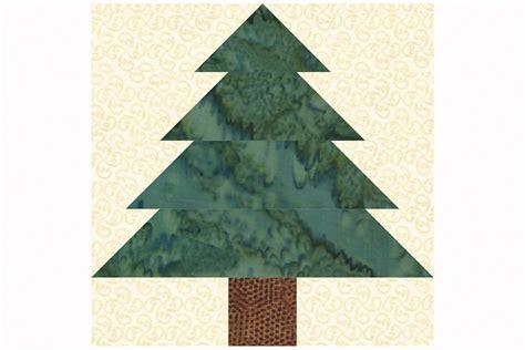 christmas tree block pattern easy patchwork christmas tree quilt block pattern