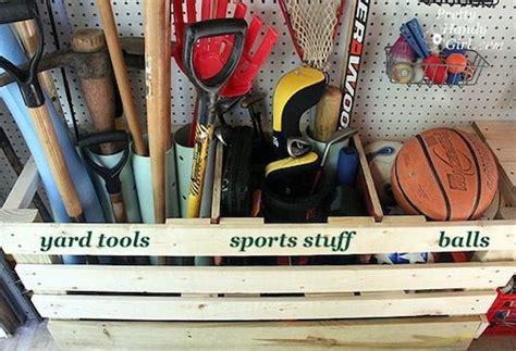 Garage Storage Ideas For Balls These 19 Easy Hacks Will Help Organize Your Cluttered Garage
