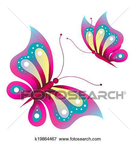 disegni cerca clipart archivio illustrazioni farfalle disegno k19864467