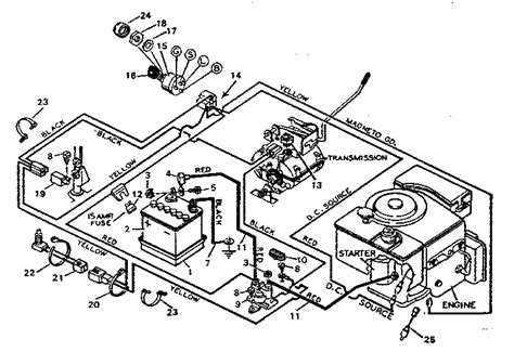 10 best images of lawn mower wiring diagram lawn mower