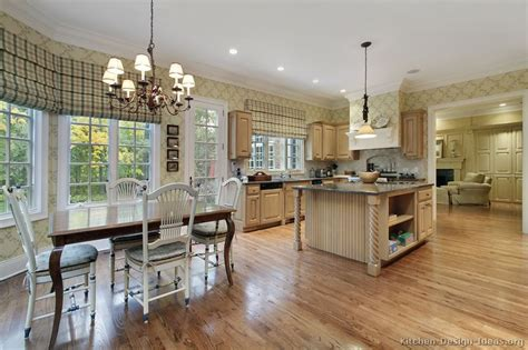 Kitchen Great Room Design by Pictures Of Kitchens Traditional Light Wood Kitchen