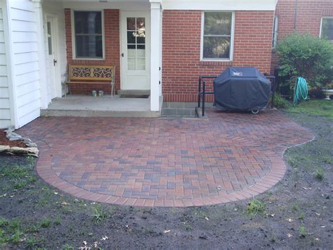 How To Do A Paver Patio Paver Patio Gt Projects Gt Bender Construction Company